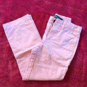 Pastel pink Polo pants